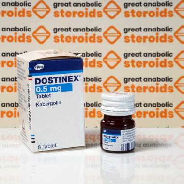 Dostinex 0,5 mg Pfizer Labs