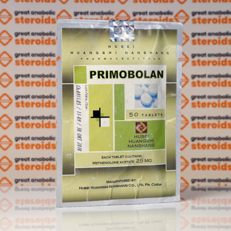 Primobolan (Methenolone Acetate) 25 mg Hubei Huangshi Nanshang | GAS0030 buy
