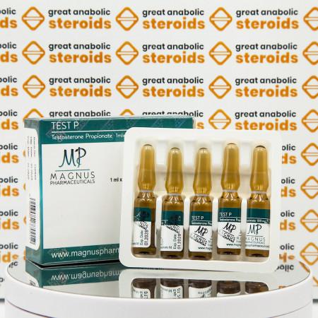 Test P ( Testosterone Propionate) 100 mg Magnus Pharmaceuticals