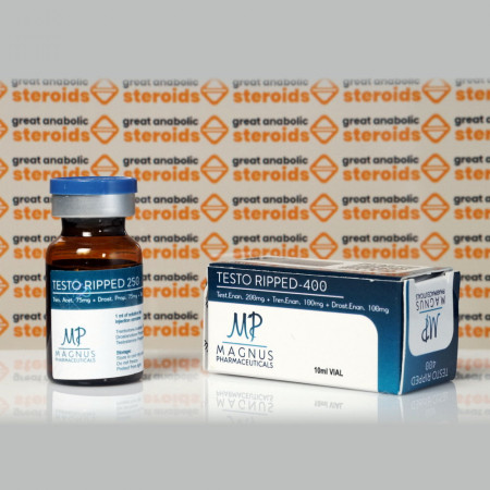 Testo Ripped 400 mg Magnus Pharmaceuticals
