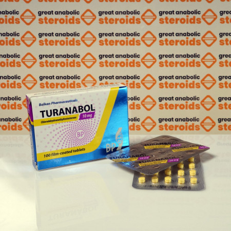 Turanabol 10 mg Balkan Pharmaceuticals | GAS0095 buy