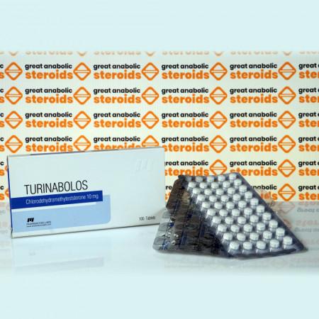 Turinabolos 10 mg Pharmacom Labs